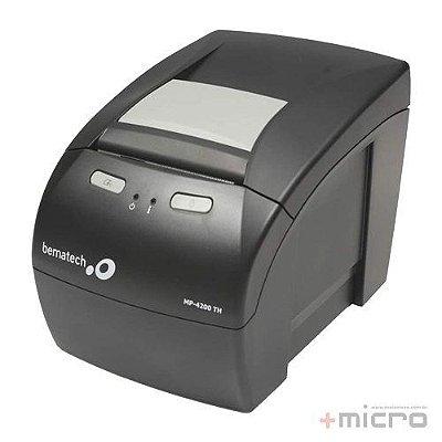 Impressora não fiscal térmica USB Bematech MP-4200 TH serrilha e guilhotina