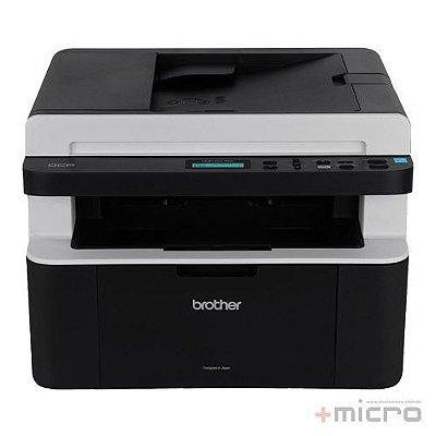 Impressora multifuncional laser monocromática Brother DCP1617NW