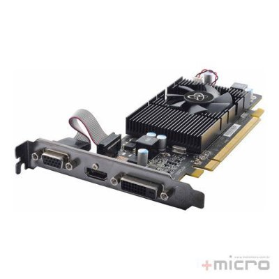 Placa de vídeo PCI-E XFX AMD Radeon R5 230 2 Gb DDR3 128 Bits