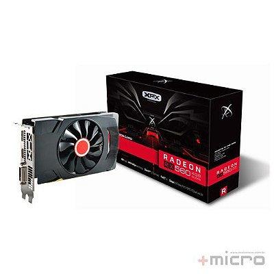 Placa de vídeo PCI-E XFX AMD Radeon RX 560D 2 Gb GDDR5 128 Bits
