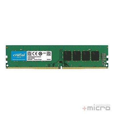 Memória 8 Gb DDR4 Crucial 2400 MHz