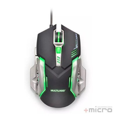 Mouse gamer USB Multilaser MO269
