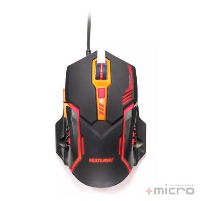 Mouse gamer USB Multilaser MO270