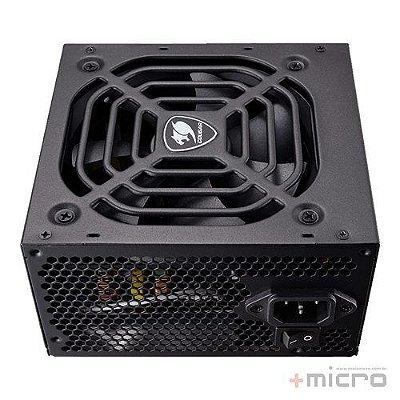 Fonte de alimentação ATX 600W reais 80Plus BRONZE Cougar VTE600