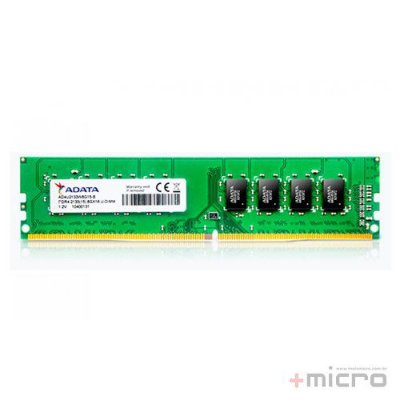 Memória 8 Gb DDR4 Adata 2400 MHz