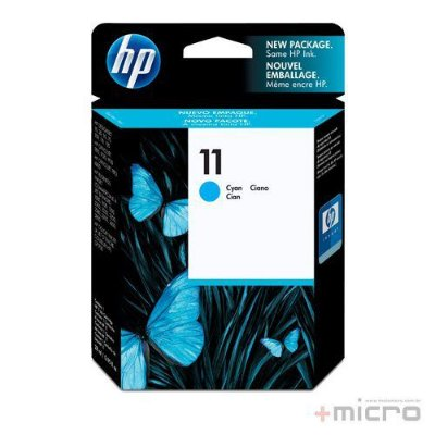 Cartucho de tinta HP 11 (C4836A) ciano 28 ml