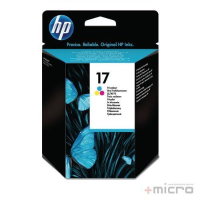 Cartucho de tinta HP 17 (C6625A) colorido 15 ml