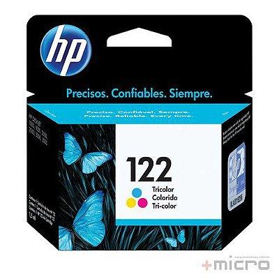 Cartucho de tinta HP 122 (CH562HB) colorido 2 ml