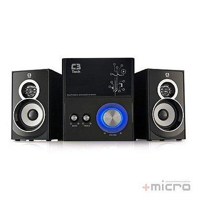 Speaker 2.1 C3 Tech SP-232U BK