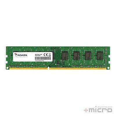 Memória 2 Gb DDR3 Adata 1333 MHz