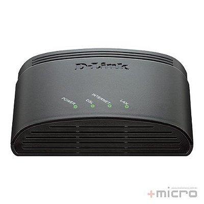 Modem ADSL2+ roteador D-Link DSL-2500E