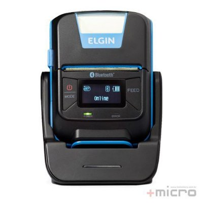 Impressora térmica portátil Elgin RM22 USB/Bluetooth
