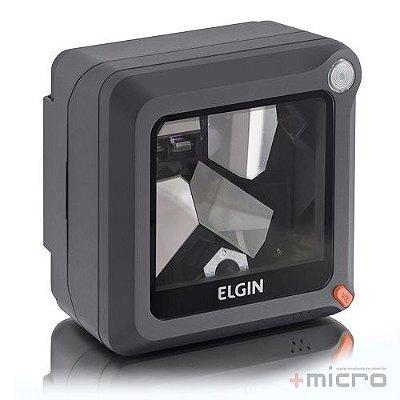 Leitor de código de barras USB fixo laser Elgin EL4200 preto