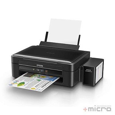 Impressora multifuncional jato de tinta Epson EcoTank L380