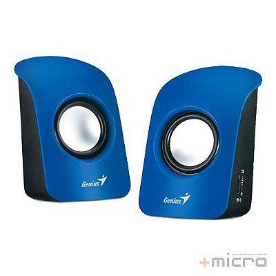 Speaker 2.0 Genius SP-U115 USB azul
