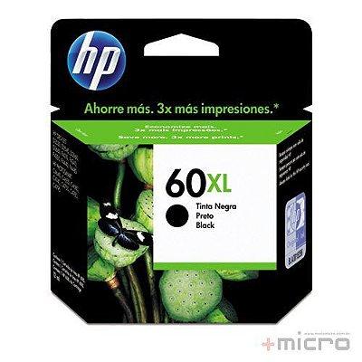 Cartucho de tinta HP 60XL (CC641WB) preto 13,5 ml