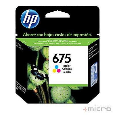 Cartucho de tinta HP 675 (CN691AL) colorido 9 ml
