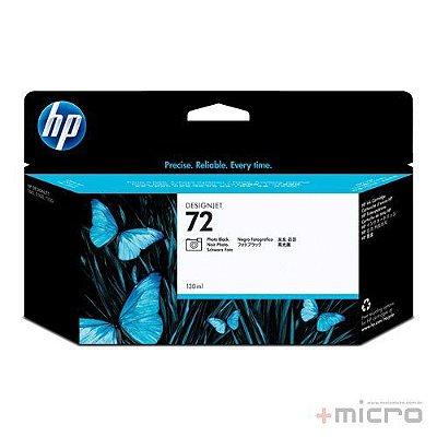 Cartucho de tinta HP 72 (C9370A) preto fotográfico 130 ml