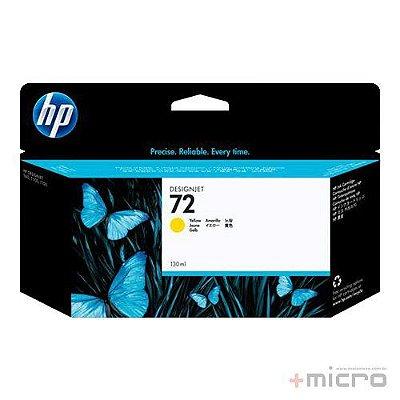 Cartucho de tinta HP 72 (C9373AB) amarelo 130 ml