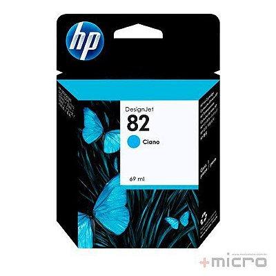 Cartucho de tinta HP 82 (C4911AB) ciano 69 ml