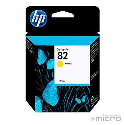 Cartucho de tinta HP 82 (C4913AB) amarelo 69 ml