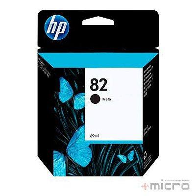 Cartucho de tinta HP 82 (CH565AB) preto 69 ml