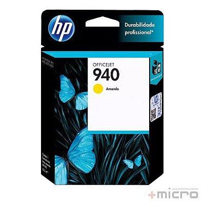 Cartucho de tinta HP 940 (C4905AB) amarelo 15,5 ml