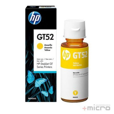 Garrafa de tinta HP GT52 (M0H56AL) amarelo 70 ml
