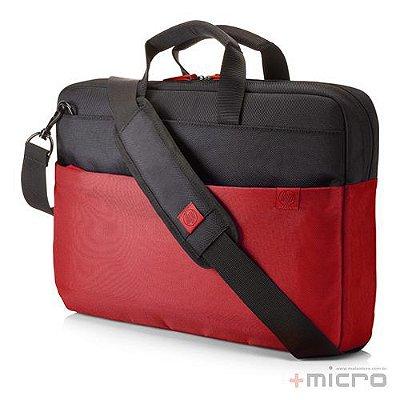 "Maleta para notebook HP Duotone 15.6"" (Y4T18AA) preta/vermelha"