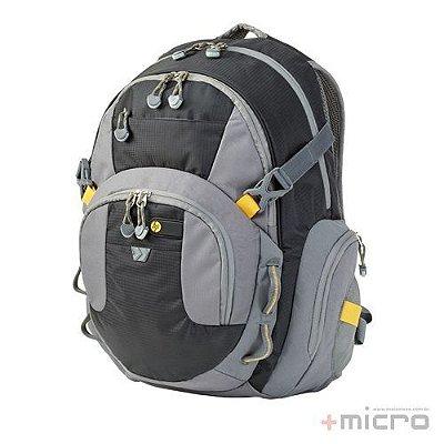 """Mochila para notebook HP Full Featured 15,6"""" (F3W19AA) cinza/preta"""