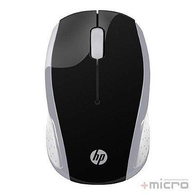 Mouse wireless USB HP X200 (2HU84AA) preto/prata