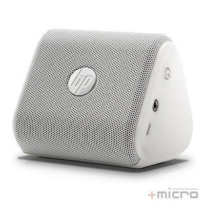 Speaker mobile Bluetooth HP Roar Mini (G1K47AA) USB branco