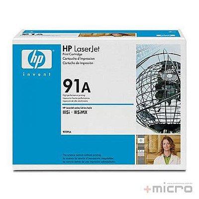 Toner HP 91A (92291A) preto