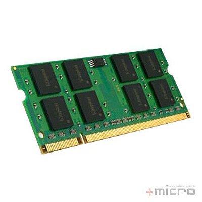 Memória para notebook 8 Gb DDR3 Kingston 1600 MHz