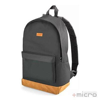 "Mochila para notebook Multilaser Student BO407 15,6"" preta/marrom"