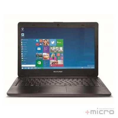 "Notebook Multilaser Legacy 14"" PC 201"