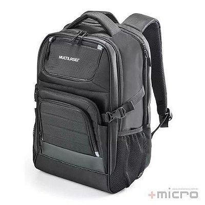 "Mochila para notebook Multilaser Armor BO405 15,6"" preta"