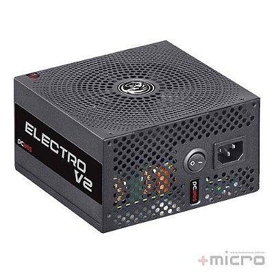 Fonte de alimentação ATX 430W reais 80Plus BRONZE PCYes Electro V2 Series