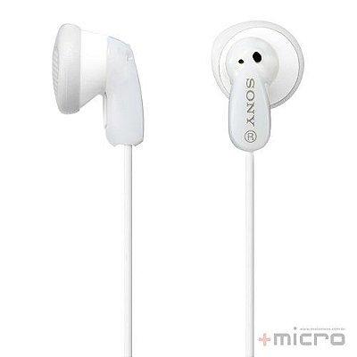 Fone de ouvido Sony MDR-E9LP/WICU branco