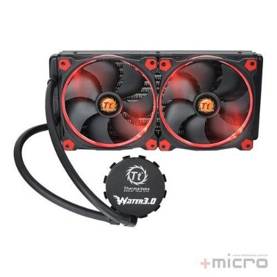 Water cooler Thermaltake Water 3.0 Riing Red 280
