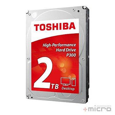 Hard disk 2 Tb Toshiba P300 7200 rpm SATA