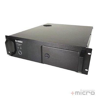 """Nobreak TS Shara UPS Server para rack 19"""" 3U 2200VA 2x18Ah bivolt/115V (6984)"""