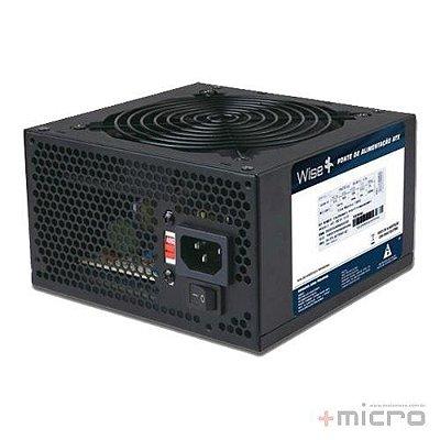 Fonte de alimentação ATX 500W reais 20+4 WiseCase FNWD0005 sem cabo