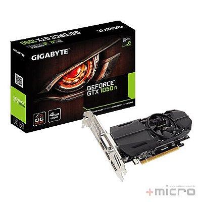 Placa de vídeo PCI-E Gigabyte nVIDIA GTX 1050TI 4 Gb GDDR5 128 Bits