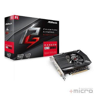 Placa de vídeo PCI-E ASRock AMD Radeon RX 560 4 Gb GDDR5 128 Bits