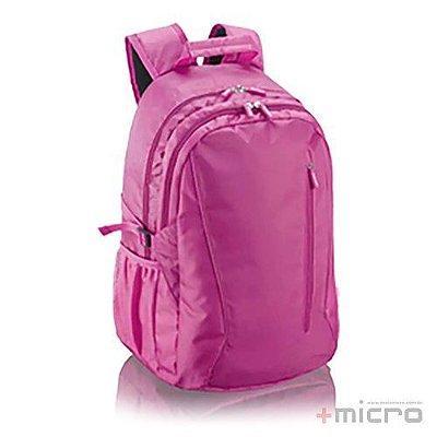 "Mochila para notebook Multilaser Jacquard 15,6"" (BO201) rosa"