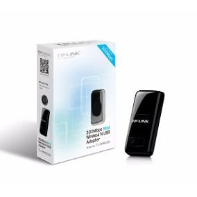 Adaptador USB Wireless TP-Link 300Mbps TL-WN823N