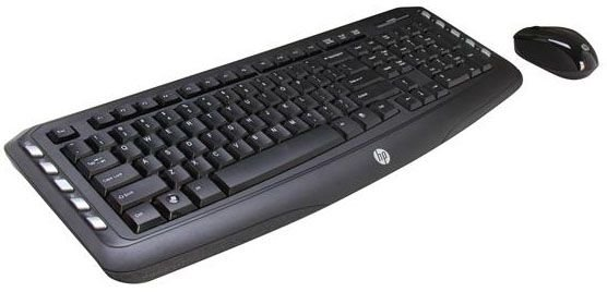 Kit Teclado e Mouse Wireless HP Classic