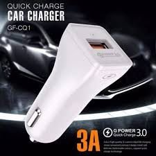 Carregador veicular Quick Charge 3A - GOLF