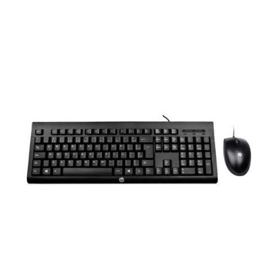 Kit Teclado e Mouse c/ fio HP C2500